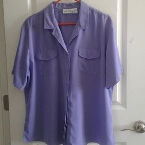🌻4/$25🌻 Apparenza purple blouse
